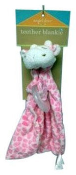 Angel Dear Pink Giraffe Blankie - 1 ct.