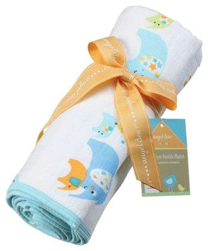 Angel Dear Blue Elephant Nap Blanket - 1 ct.