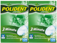 Block Drug Company, Inc. Polident 3-Minute Antibacterial Denture Cleanser