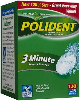 Polident 3-Minute Antibacterial Denture Cleanser
