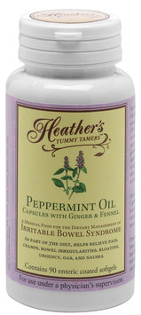 Heather's Tummy Care Tummy Tamers Peppermint Oil Softgels