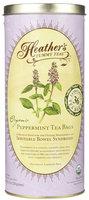 Heather's Tummy Care Tummy Tea Organic Peppermint Tea Bags, 36 ct