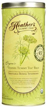 Heather's Tummy Care Organic Fennel Tummy Tea - 45 Tea Bags