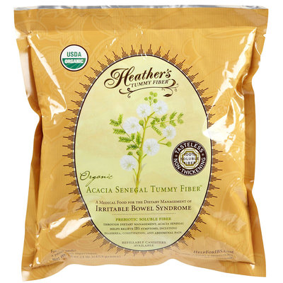 Heather's Tummy Care Tummy Fiber Organic Acacia Powder (Pouch), 16 oz