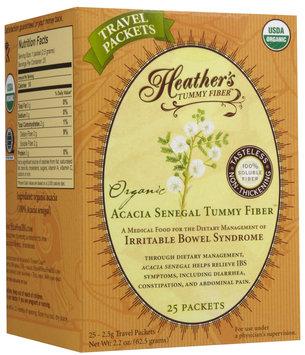 Heather's Tummy Care Organic Acacia Senegal Tummy Fiber - 25 Packets