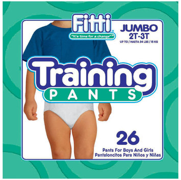 Fitti Training Pants 2T-3T - 26 ct.