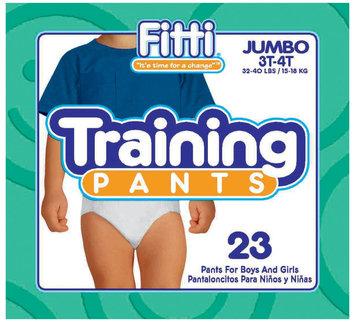 Fitti Training Pants 3T-4T - 23 ct.