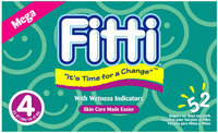 Fitti Diapers - Mega Pack 4 - 52 ct.