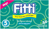 Fitti Diapers 5 - 46 ct.
