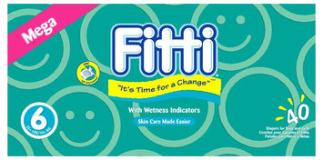 Fitti Baby Diapers 6 - 40 ct.