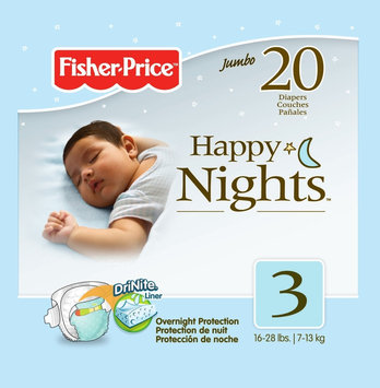 Fisher Price Night Diapers Jumbo Pack - Size 3 20ct.