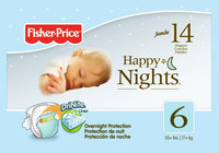 Fisher Price Night Diapers Jumbo Pack - Size 3 20ct.