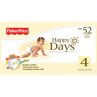 Fisher Price Mega Diapers Pack - Size 1 84ct.
