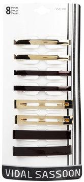 Vidal Sassoon Hair Accessories Barrettes, 8 ct