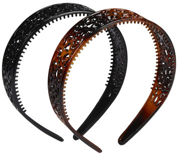 Vidal Sassoon Hair Accessories Scroll Headbands, 2 ct