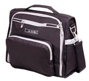 Ju Ju Be Ju-Ju-Be B.F.F. Messenger Diaper Bag - Black/Silver - 1 ct.