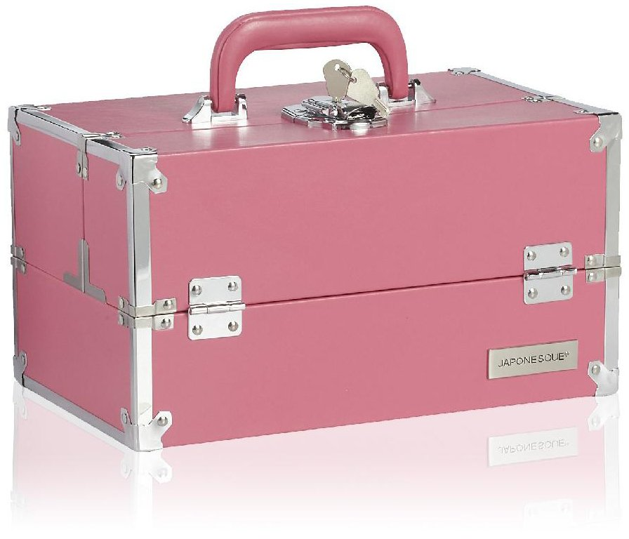 Japonesque Train Case Medium - Pink