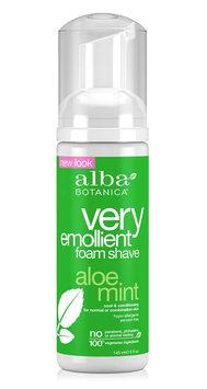 Alba Botanica Very Emollient™ Foam Shave Aloe Mint