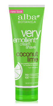 Alba Botanica Very Emollient™ Cream Shave Coconut Lime