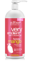 Alba Botanica very emollient™ bath & shower gel honey mango
