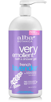 Alba Botanica Very Emollient™ Bath & Shower Gel French Lavender