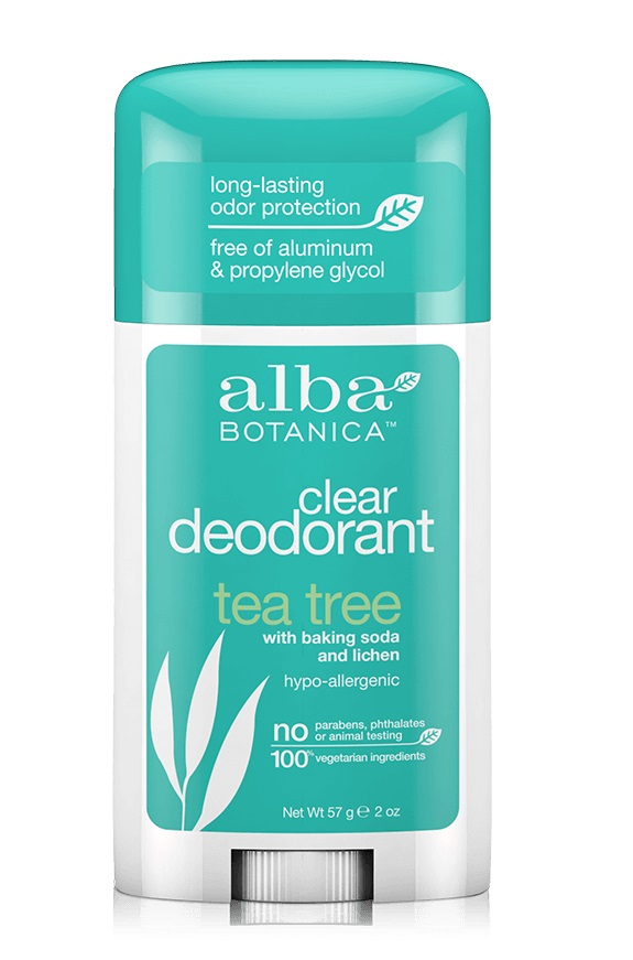 Alba Botanica Clear Enzyme Deodorant Stick Tea Tree