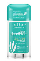 Alba Botanica Clear Enzyme Deodorant Stick Tea Tree