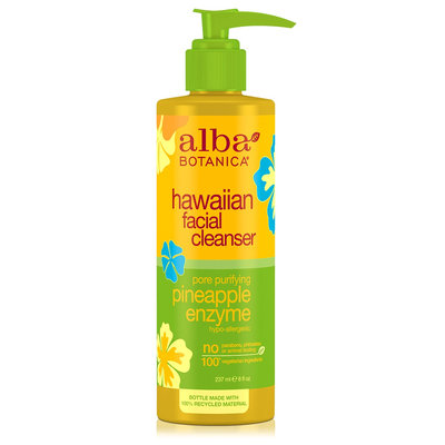 Alba Botanica Hawaiian Facial Cleanser Pore Purifying Pineapple Enzyme
