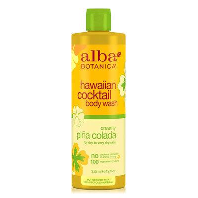 Alba Botanica Hawaiian Cocktail Body Wash Creamy Pina Colada