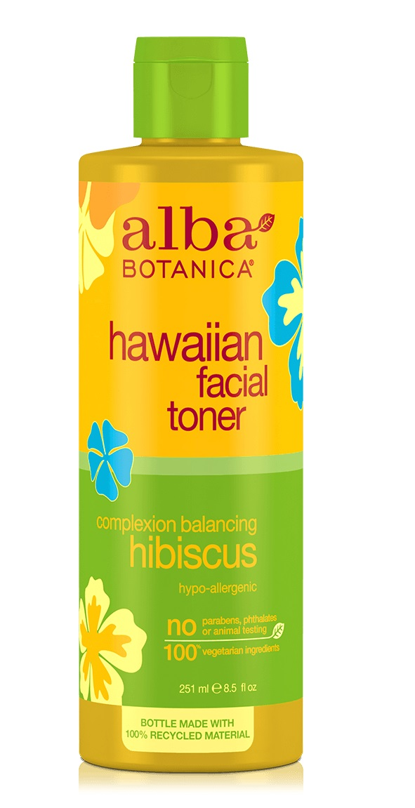 Alba Botanica Hawaiian Facial Toner Complexion Balancing Hibiscus