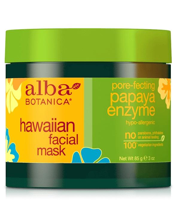 Alba Botanica Hawaiian Facial Mask Pore-fecting Papaya Enzyme