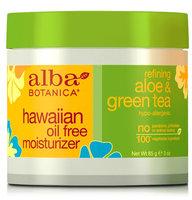 Alba Botanica Hawaiian Oil Free Moisturizer Refining Aloe & Green Tea