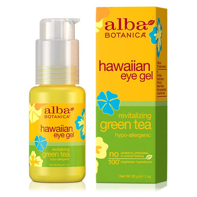Alba Botanica Hawaiian Eye Gel Revitalizing Green Tea