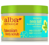 Alba Botanica Hawaiian Body Scrub Revitalizing Sea Salt