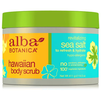 Alba Botanica Hawaiian Body Scrub Revitalizing Sea Salt