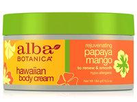 Alba Botanica Hawaiian Body Cream Rejuvenating Papaya Mango