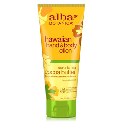 Alba Botanica Hawaiian Hand & Body Lotion Replenishing Cocoa Butter