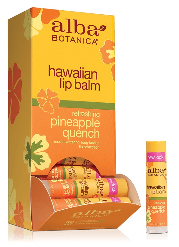 Alba Botanica Hawaiian Lip Balm Refreshing Pineapple Quench