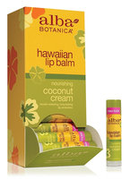 Alba Botanica Hawaiian Lip Balm Nourishing Coconut Cream