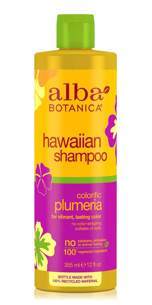Alba Botanica Hawaiian Shampoo Colorific Plumeria
