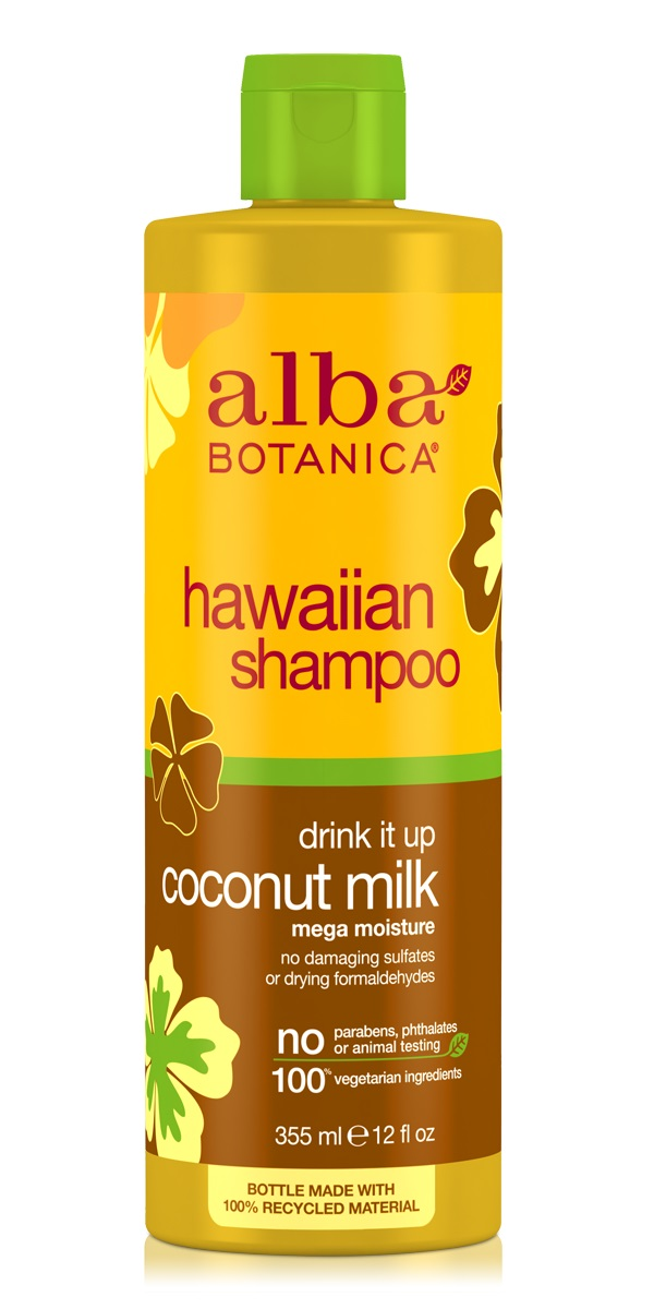 Alba Botanica Hawaiian Shampoo Drink it up Coconut Milk