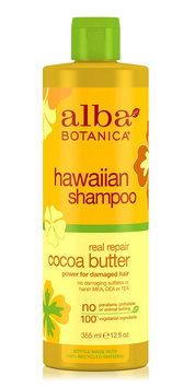 Alba Botanica Hawaiian Shampoo Real Repair Cocoa Butter