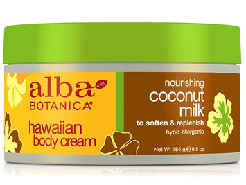 Alba Botanica Hawaiian Body Cream Nourishing Coconut Milk