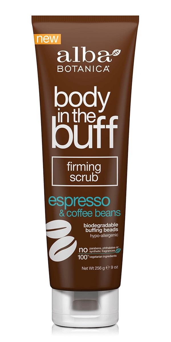 Alba Botanica Body In The Buff Firming Scrub Espresso & Coffee Bean