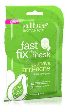 Alba Botanica Fast Fix Sheet Mask Papaya Anti-Acne