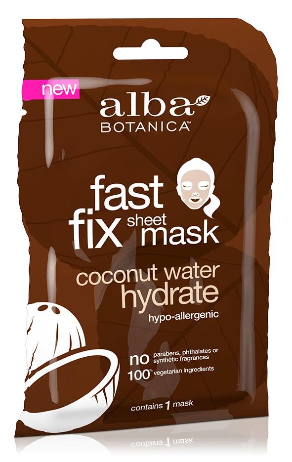 Alba Botanica Fast Fix Sheet Mask Coconut Water Hydrate
