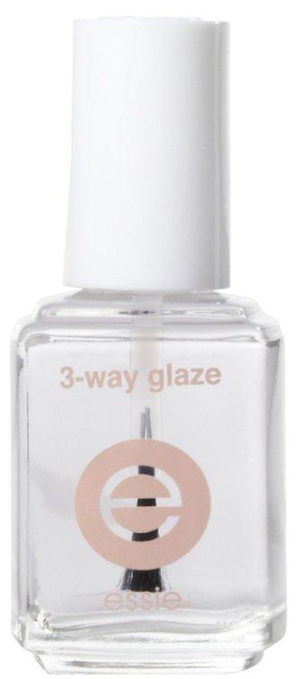 essie Three Way Glaze Base, Strengthener & Top Coat