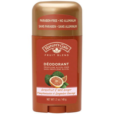 Nature's Gate Soothing Deodorant Stick, Grapefruit & Wild Ginger