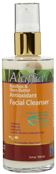 Alaffia Rooibos & Shea Butter Antioxidant Facial Cleanser
