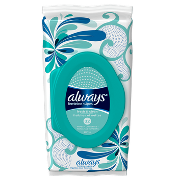 Always Fresh & Clean Wipes